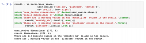 """right merge in pandas keeps all rows from the second, """"right"""" dataframe."""